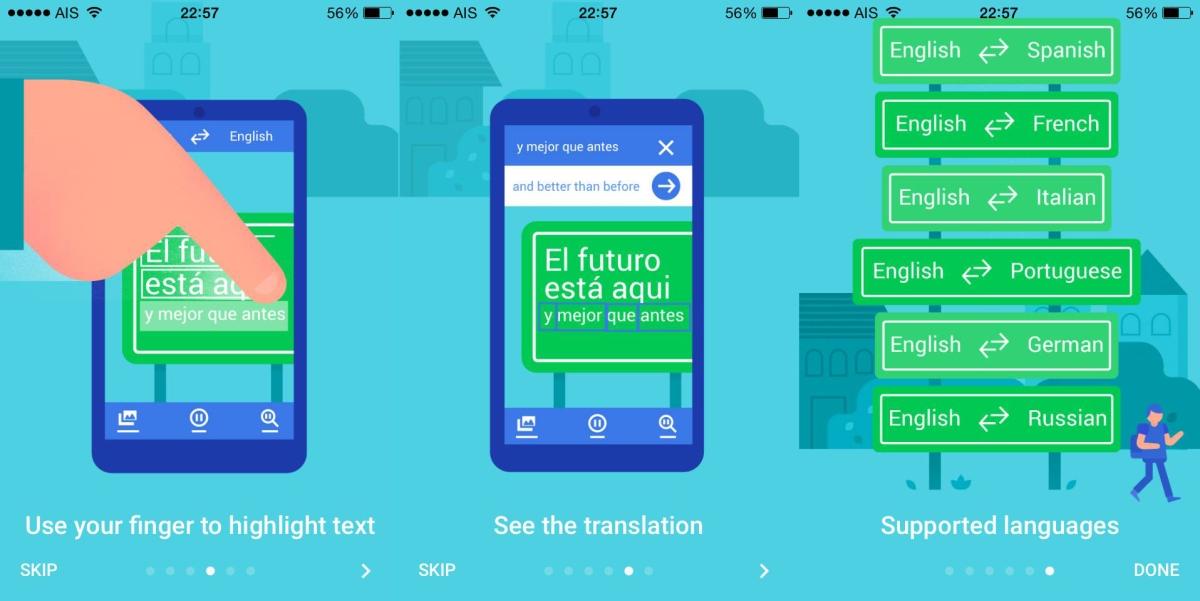 """สุดยอด App แปลภาษาเพื่อการท่องเที่ยว """"Google translate"""""""